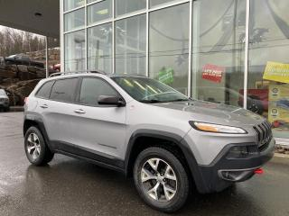 Used 2014 Jeep Cherokee TRAILHAWK , 4X4 , CUIR , ÉCRAN 8.4' , SI for sale in Ste-Agathe-des-Monts, QC