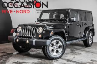 Used 2018 Jeep Wrangler Sahara 4x4 MAGS+BLUETOOTH for sale in Boisbriand, QC