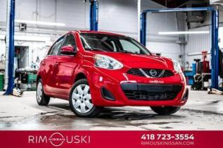 Used 2016 Nissan Micra 4DR HB for sale in Rimouski, QC