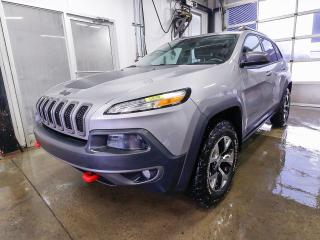 Used 2017 Jeep Cherokee TRAILHAWK 4X4 CAMÉRA *SIÈGES / VOLANT CHAUFFANT* for sale in Mirabel, QC