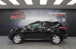 Used 2015 Toyota RAV4 LE AWD AUTO SIÈGES BLUETOOTH CAMERRA 160 809 KM !! for sale in Lévis, QC
