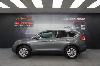 Used 2013 Honda CR-V TOURING AWD CUIR TOIT OUVRANT GPS NAV CAMERA MAGS for sale in Lévis, QC