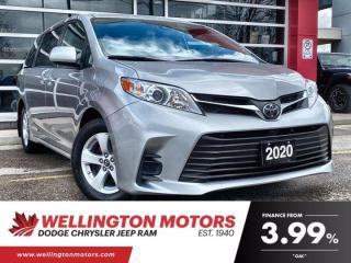 Used 2020 Toyota Sienna LE | 8 Passenger | New Front Tires !! for sale in Guelph, ON
