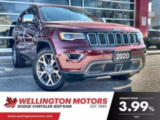 Used 2020 Jeep Grand Cherokee Limited   Low Low Km's   Luxury Group !! for sale in Guelph, ON