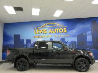 Used 2012 Ford F-150 XLT FX4 SUPERCREW CAB V8 5.0L 4X4 CUIR N for sale in Lévis, QC