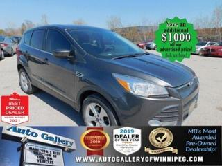 Used 2015 Ford Escape SE* 4WD/Automatic/Alloys/Air Conditioning for sale in Winnipeg, MB