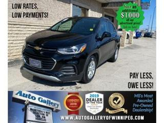 Used 2019 Chevrolet Trax LT* LOW KMs/Reverse Camera/REMOTE STARTER for sale in Winnipeg, MB