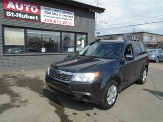 Used 2010 Subaru Forester for sale in St-Hubert, QC