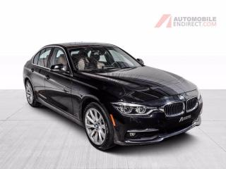 Used 2017 BMW 3 Series 330i xDrive Luxury Tech Pack Cuir Toit GPS Caméra for sale in Île-Perrot, QC