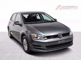 Used 2017 Volkswagen Golf Trendline TSI A/C Mags Sièges Chauffants Caméra for sale in Île-Perrot, QC