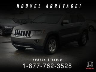 Used 2012 Jeep Grand Cherokee LIMITED + V6 + 4WD + CUIR + TOIT + WOW! for sale in St-Basile-le-Grand, QC