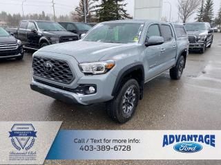 Used 2020 Toyota Tacoma LOW KMS - ONE PREVIOUS OWNER for sale in Calgary, AB