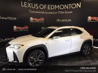 New 2021 Lexus UX 250h F Sport Series 2 for sale in Edmonton, AB
