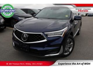 Used 2020 Acura RDX SH-AWD for sale in Whitby, ON