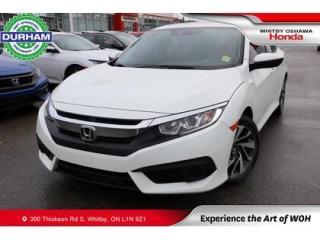 Used 2017 Honda Civic w/Honda Sensing for sale in Whitby, ON