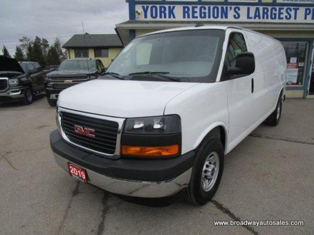 2019 GMC Savana 3/4 TON CARGO MOVING 2 PASSENGER 6.0L - V8.. EXTENDED-CARGO.. TOW SUPPORT.. BACK-UP CAMERA.. KEYLESS ENTRY.. AIR CONDITIONING..