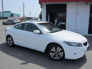 Used 2010 Honda Accord EX-L 2DR $7,995+HST+LIC FEE / LEATHER / SUNROOF / CERTIFIED for sale in North York, ON