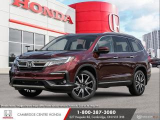 New 2021 Honda Pilot Touring 7P POWER SUNROOF | WIRELESS CHARGER | APPLE CARPLAY™ & ANDROID AUTO™ for sale in Cambridge, ON