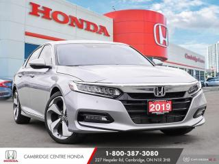 Used 2019 Honda Accord Touring 1.5T WIRELESS CHARGER | HONDA SENSING TECHNOLOGIES | APPLE CARPLAY™ & ANDROID AUTO™ for sale in Cambridge, ON
