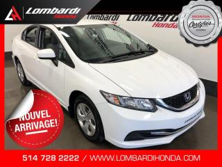 Used 2014 Honda Civic LX|BLUETOOTH| for sale in Montréal, QC