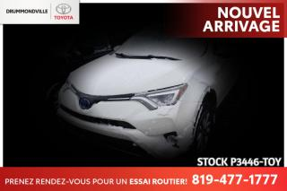 Used 2017 Toyota RAV4 Hybrid HYBRID| LIMITED| CUIR BRUN for sale in Drummondville, QC