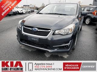 Used 2016 Subaru Impreza 2,0i Touring AWD ** CAMÉRA DE RECUL / MA for sale in St-Hyacinthe, QC