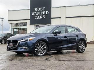 Used 2018 Mazda MAZDA3 Sport GT|NAV|HEADS UP DISPLAY|ACC|LANE DEP WARNING for sale in Kitchener, ON
