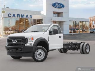 New 2021 Ford F-550 Super Duty DRW XL for sale in Carman, MB