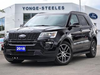 Used 2018 Ford Explorer SPORT for sale in Thornhill, ON