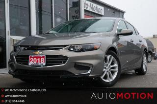 Used 2018 Chevrolet Malibu LT for sale in Chatham, ON