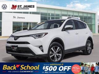New 2018 Toyota RAV4 XLE, Local One Owner, Power Sunroof, WINTER / SUMMER TIRES!!! for sale in Winnipeg, MB