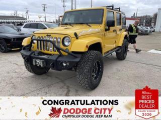 Used 2015 Jeep Wrangler Unlimited Wrangler X for sale in Saskatoon, SK