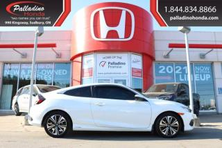 Used 2016 Honda Civic COUPE EX-T - LOADED WITH HONDA SENSING TECHNOLOGY! - for sale in Sudbury, ON