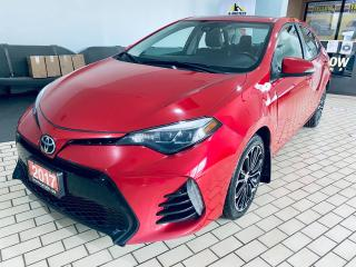 Used 2017 Toyota Corolla SE I NO ACCIDENT I SINGLE OWNER I AUTO $11999 for sale in Brampton, ON