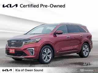 Used 2019 Kia Sorento SX for sale in Owen Sound, ON