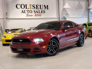 Used 2014 Ford Mustang V6-COUPE-6 SPEED-NEW STYLE RIMS-NO ACCIDENTS-61KM for sale in Toronto, ON