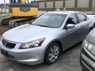 Used 2008 Honda Accord EX-L for sale in Cambridge, ON