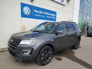 Used 2017 Ford Explorer XLT 4WD APPEARANCE PKG - CAPTAINS CHAIRS / PANO ROOF / NAVI for sale in Edmonton, AB