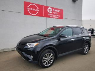 Used 2016 Toyota RAV4 Limited / AWD / 1.6L / Panoramic Roof / Touch Screen / Loaded for sale in Edmonton, AB