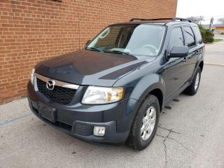 Used 2009 Mazda Tribute 2WD/LEATHER/ONE OWNER/ NO ACCIDENTS/CERTIFIED for sale in Oakville, ON
