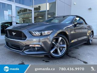 Used 2015 Ford Mustang GT PREMIUM - CONVERTIBLE, LEATHER, NAV, 5.0L BEAST for sale in Edmonton, AB