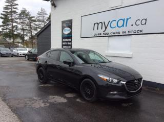 Used 2018 Mazda MAZDA3 GX BLACKED OUT ALLOYS, BACKUP CAM, BLUETOOTH!! for sale in Richmond, ON