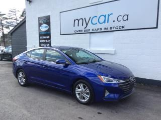 Used 2019 Hyundai Elantra Preferred HEATED SEATS, ALLOYS, BACKUP CAM, BLUETOOTH!! for sale in Richmond, ON