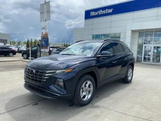 New 2022 Hyundai Tucson PREFERRED: BLUELINK/WIRELESS APPLE CARPLAY ANDROID AUTO/FULL SAFETY PKG/HEATED SEATS/HEATED STEERING/POWER DRIVERS SEAT for sale in Edmonton, AB