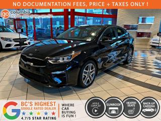 Used 2020 Kia Forte EX - Accident Free / Local / One Owner / Sunroof for sale in Richmond, BC