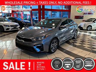 Used 2020 Kia Forte EX - Accident Free / Heated Seats / No Dealer Fees / Sunroof for sale in Richmond, BC