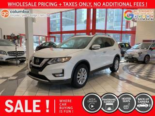 Used 2018 Nissan Rogue SV AWD - Pano Sunroof / No Dealer Fees / No Accident / Local for sale in Richmond, BC