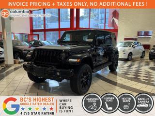 New 2021 Jeep Wrangler Unlimited High Altitude for sale in Richmond, BC