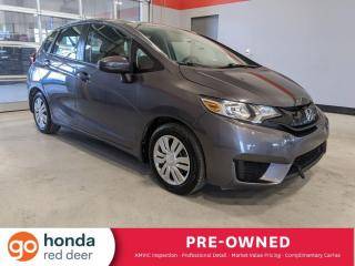 Used 2016 Honda Fit LX for sale in Red Deer, AB