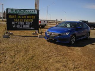 Used 2018 Honda Civic LX Automatic for sale in Thunder Bay, ON